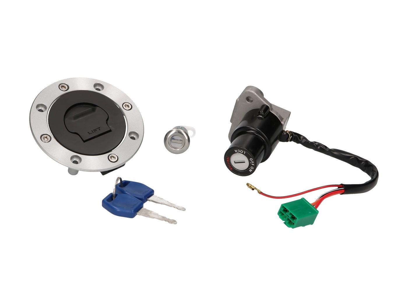 Vicma lock set for Hyosung GT 125/650cc
