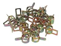 hose clamps 9mm - 20 pieces - universal