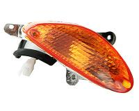 indicator light assy front left, orange for BT49QT-9