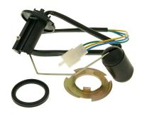 fuel level sensor unit for metal fuel tank