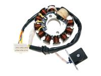 alternator stator 11 coil 6 pins for GY6 125, 150cc