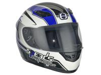 helmet Speeds full face Performance II Racing Graphic blue size XL (61-62cm)