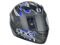 helmet Speeds full face Performance II Tribal Graphic blue