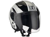 helmet Speeds Jet City II Graphic white / silver size L (59-60cm)