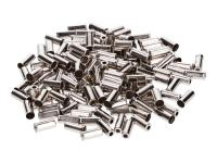 bowden cable end cap metal 4mm 150 pieces