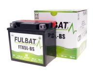 battery Fulbat FTX5L-BS MF maintenance free