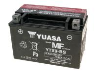 battery Yuasa YTX9-BS DRY MF maintenance free