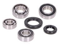 gearbox bearing set w/ oil seals for Peugeot vertical Euro1/2