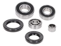 gearbox bearing set w/ oil seals for Piaggio short type