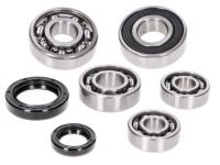 gearbox bearing set w/ oil seals for Morini