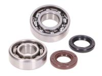 crankshaft bearing set w/ shaft seals for GY6 139QMA, QMB 4-stroke, Kymco