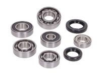 gearbox bearing set w/ oil seals for 152QMI 125, 150 4-stroke China
