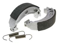 brake shoe set Polini 110x25mm w/ springs for drum brake for Adly, CPI, Generic, MBK, Malaguti, Yamaha