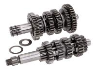 gearbox primary and secondary shaft kit 6-speed TP racing for Minarelli AM6 1st and 2nd series