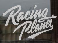 sticker Racing Planet 200x115mm white