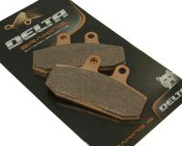 brake pads Delta Braking sintered DB2710SR = NK430.06/S